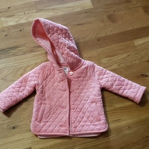 Baby B'gosh Tufted Pink Jacket